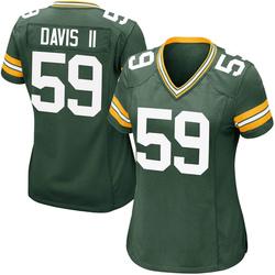 Jamal Davis II Green Bay Packers Women's Game Team Color Nike Jersey - Green