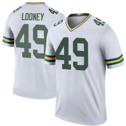 James Looney Green Bay Packers Men's Color Rush Legend Nike Jersey - White