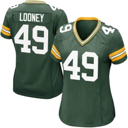 James Looney Green Bay Packers Women's Game Team Color Nike Jersey - Green