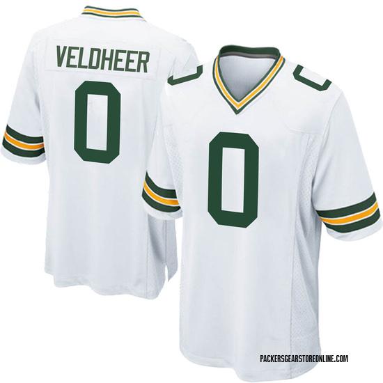 Jared Veldheer Green Bay Packers Men's Game Nike Jersey - White