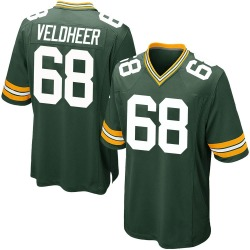 Jared Veldheer Green Bay Packers Men's Game Team Color Nike Jersey - Green