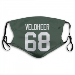 Jared Veldheer Green Bay Packers Reusable & Washable Face Mask