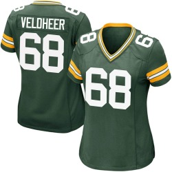 Jared Veldheer Green Bay Packers Women's Game Team Color Nike Jersey - Green