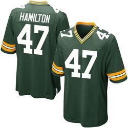 Javien Hamilton Green Bay Packers Men's Game Team Color Nike Jersey - Green