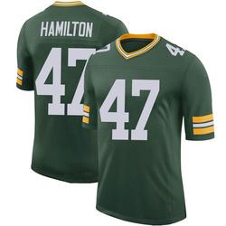 Javien Hamilton Green Bay Packers Men's Limited 100th Vapor Nike Jersey - Green