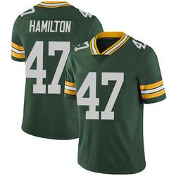 Javien Hamilton Green Bay Packers Men's Limited Team Color Vapor Untouchable Nike Jersey - Green