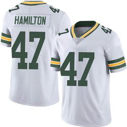 Javien Hamilton Green Bay Packers Men's Limited Vapor Untouchable Nike Jersey - White