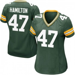 Javien Hamilton Green Bay Packers Women's Game Team Color Nike Jersey - Green