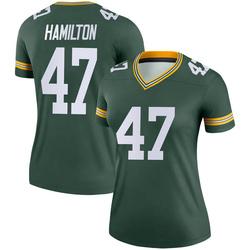 Javien Hamilton Green Bay Packers Women's Legend Nike Jersey - Green