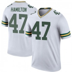 Javien Hamilton Green Bay Packers Youth Color Rush Legend Nike Jersey - White