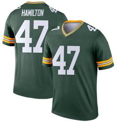 Javien Hamilton Green Bay Packers Youth Legend Nike Jersey - Green