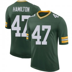 Javien Hamilton Green Bay Packers Youth Limited 100th Vapor Nike Jersey - Green