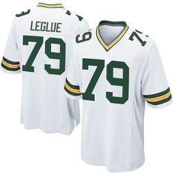 John Leglue Green Bay Packers Men's Game Nike Jersey - White
