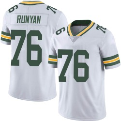 Jon Runyan Green Bay Packers Men's Limited Vapor Untouchable Nike Jersey - White
