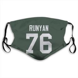 Jon Runyan Green Bay Packers Reusable & Washable Face Mask