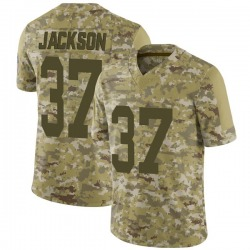 Josh Jackson Green Bay Packers Men's Limited 2018 Salute to Service Nike Jersey - Camo