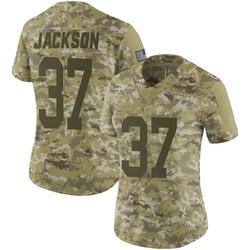 Josh Jackson Green Bay Packers Women's Limited 2018 Salute to Service Nike Jersey - Camo