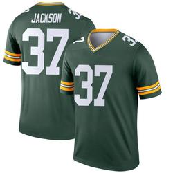 Josh Jackson Green Bay Packers Youth Legend Nike Jersey - Green