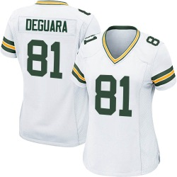 Josiah Deguara Green Bay Packers Women's Game Nike Jersey - White