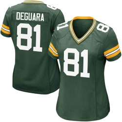 Josiah Deguara Green Bay Packers Women's Game Team Color Nike Jersey - Green