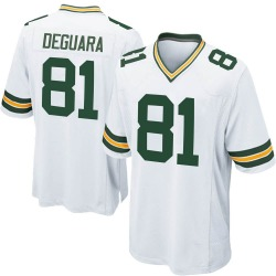 Josiah Deguara Green Bay Packers Youth Game Nike Jersey - White