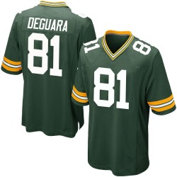 Josiah Deguara Green Bay Packers Youth Game Team Color Nike Jersey - Green