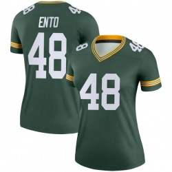 Kabion Ento Green Bay Packers Women's Legend Nike Jersey - Green