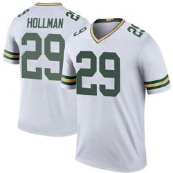 Ka'dar Hollman Green Bay Packers Men's Color Rush Legend Nike Jersey - White