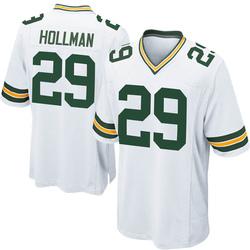 Ka'dar Hollman Green Bay Packers Youth Game Nike Jersey - White