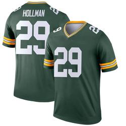 Ka'dar Hollman Green Bay Packers Youth Legend Nike Jersey - Green