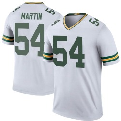 Kamal Martin Green Bay Packers Men's Color Rush Legend Nike Jersey - White