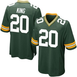 Kevin King Green Bay Packers Men's Game Team Color Nike Jersey - Green
