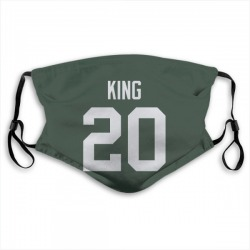 Kevin King Green Bay Packers Reusable & Washable Face Mask