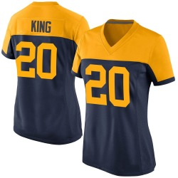 Kevin King Green Bay Packers Women's Game Alternate Nike Jersey - Navy