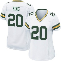 Kevin King Green Bay Packers Women's Game Nike Jersey - White