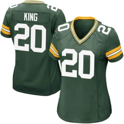 Kevin King Green Bay Packers Women's Game Team Color Nike Jersey - Green