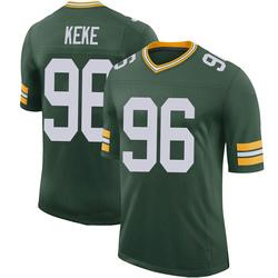Kingsley Keke Green Bay Packers Men's Limited 100th Vapor Jersey - Green