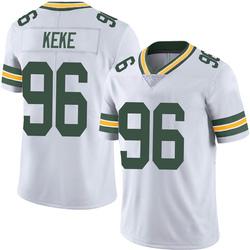 Kingsley Keke Green Bay Packers Men's Limited Vapor Untouchable Nike Jersey - White
