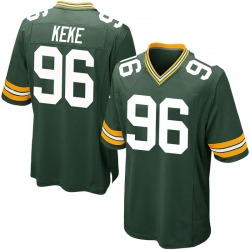 Kingsley Keke Green Bay Packers Youth Game Team Color Nike Jersey - Green