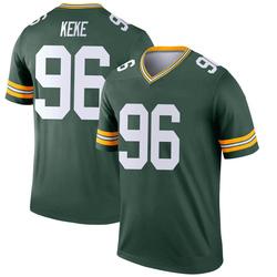 Kingsley Keke Green Bay Packers Youth Legend Nike Jersey - Green