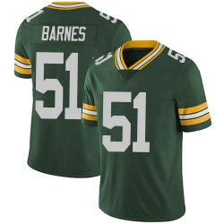 Krys Barnes Green Bay Packers Men's Limited Team Color Vapor Untouchable Nike Jersey - Green