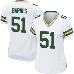 Krys Barnes Green Bay Packers Women's Game Nike Jersey - White