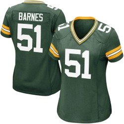 Krys Barnes Green Bay Packers Women's Game Team Color Nike Jersey - Green