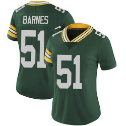 Krys Barnes Green Bay Packers Women's Limited Team Color Vapor Untouchable Nike Jersey - Green