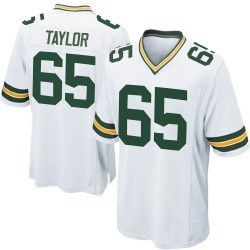 Lane Taylor Green Bay Packers Men's Game Nike Jersey - White