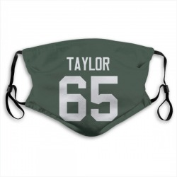 Lane Taylor Green Bay Packers Reusable & Washable Face Mask