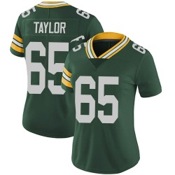 Lane Taylor Green Bay Packers Women's Limited Team Color Vapor Untouchable Nike Jersey - Green