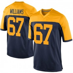 Larry Williams Green Bay Packers Men's Game Alternate Nike Jersey - Navy