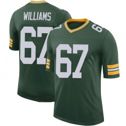 Larry Williams Green Bay Packers Men's Limited 100th Vapor Nike Jersey - Green