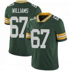 Larry Williams Green Bay Packers Men's Limited Team Color Vapor Untouchable Nike Jersey - Green